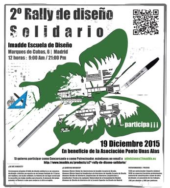 Cartel 2º Rally de Diseño Solidario